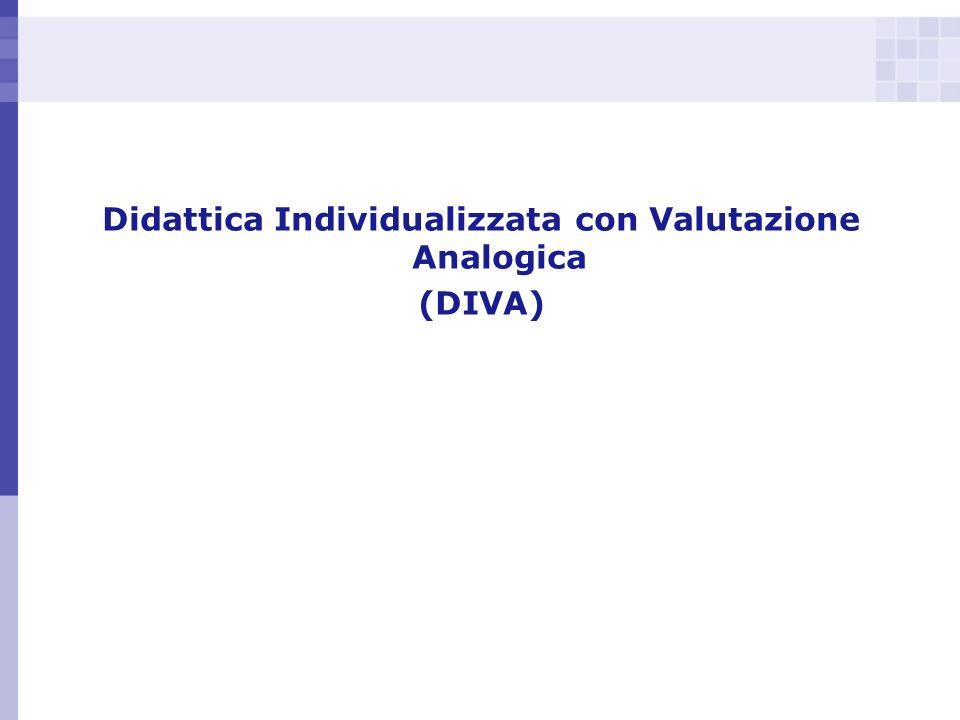 Didattica Individualizzata con Valutazione Analogica (DIVA)