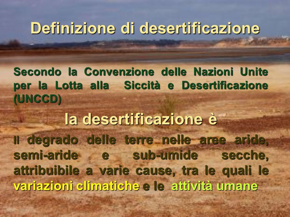 Agricoltura e protezione del suolo: sostenibilità e lotta alla desertificazione Nicola Laricchia Regione Puglia – Assessorato Risorse Agroalimentari I