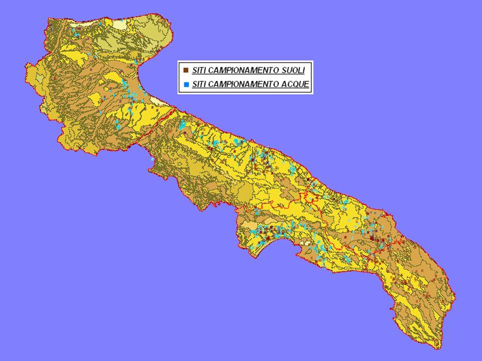 Monitoraggio della qualità dei suoli e delle acque irrigue Por Puglia 2000 - 2006 – Asse I: Risorse Naturali Misura 1.4 - Intervento C Investimenti ma