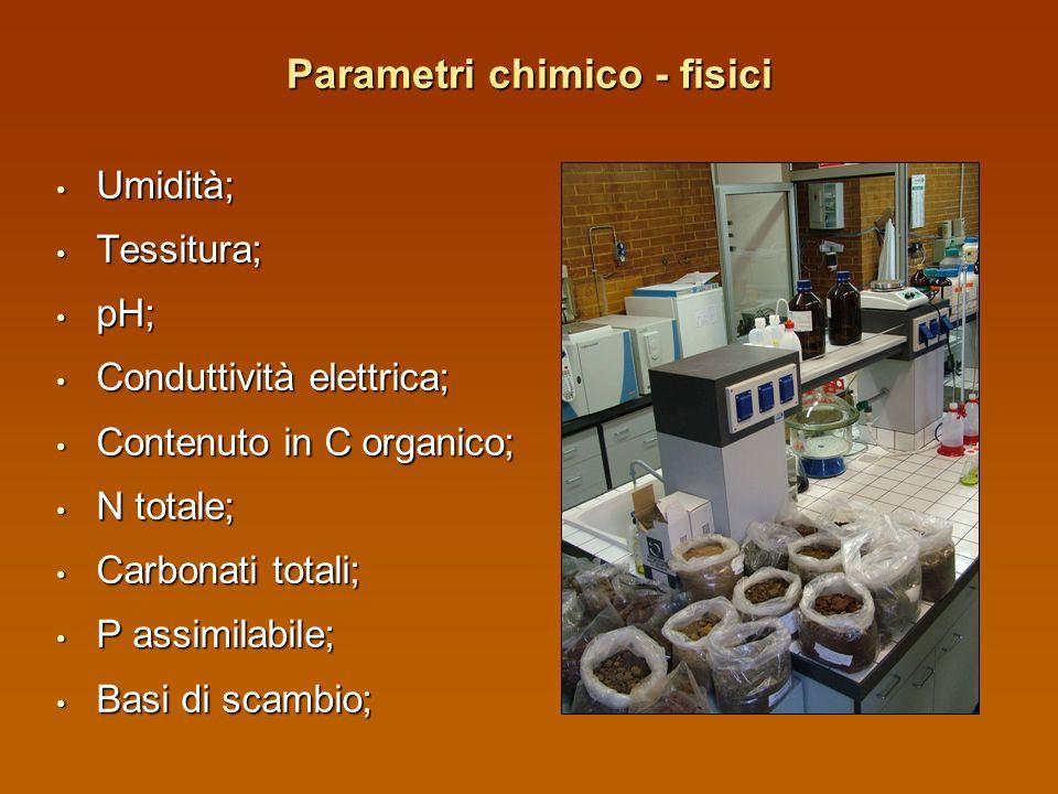 Campionamento del terreno Profondità 0 - 30 cm; Profondità 0 - 30 cm; 5 sub campioni ad X; 5 sub campioni ad X; Essiccazione in laboratorio; Essiccazi