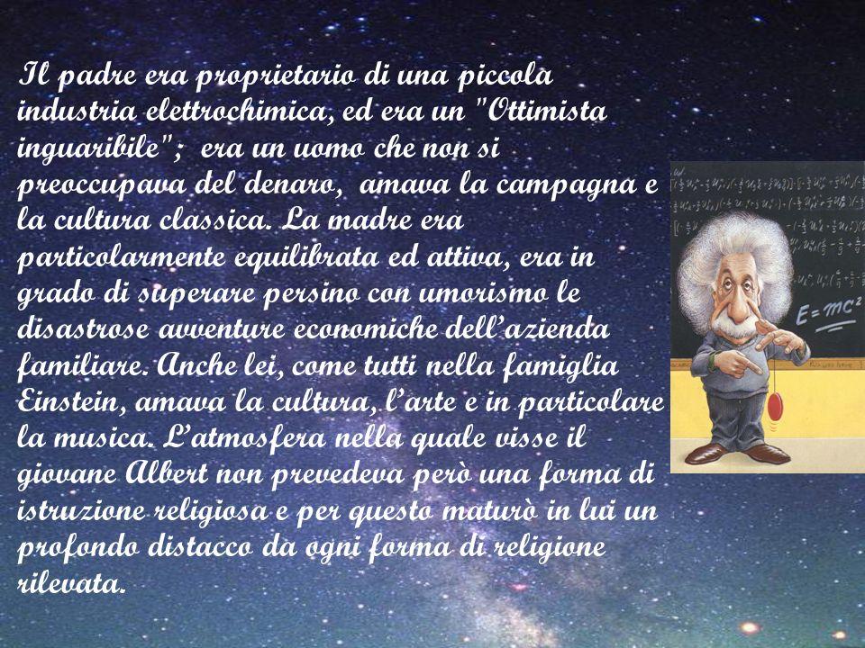 La Teoria della Relatività La teoria della relatività ristretta fu presentata da Einstein nel 1905, ma non fu subito presa sul serio per quanto era rivoluzionaria.