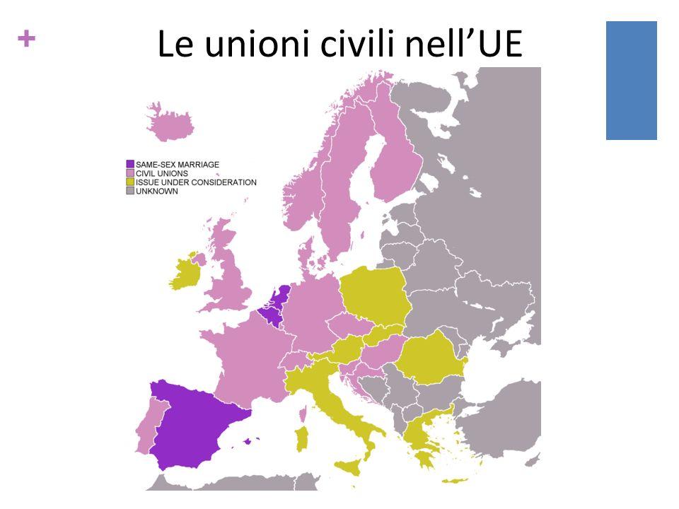 + Le unioni civili nellUE