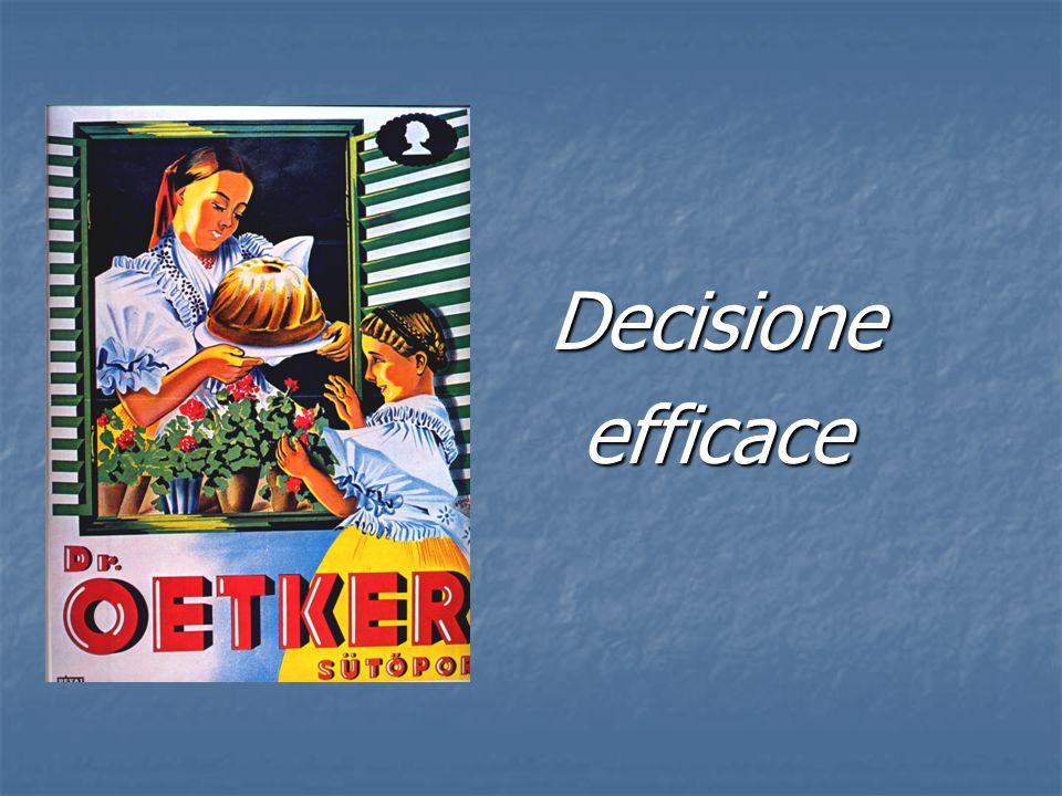 Decisione efficace