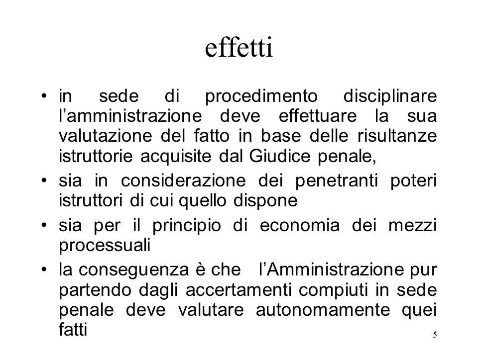 5 effetti in sede di procedimento disciplinare lamministrazione deve effettuare la sua valutazione del fatto in base delle risultanze istruttorie acqu