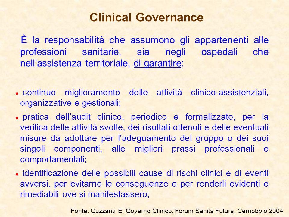 È la responsabilità che assumono gli appartenenti alle professioni sanitarie, sia negli ospedali che nellassistenza territoriale, di garantire: l cont