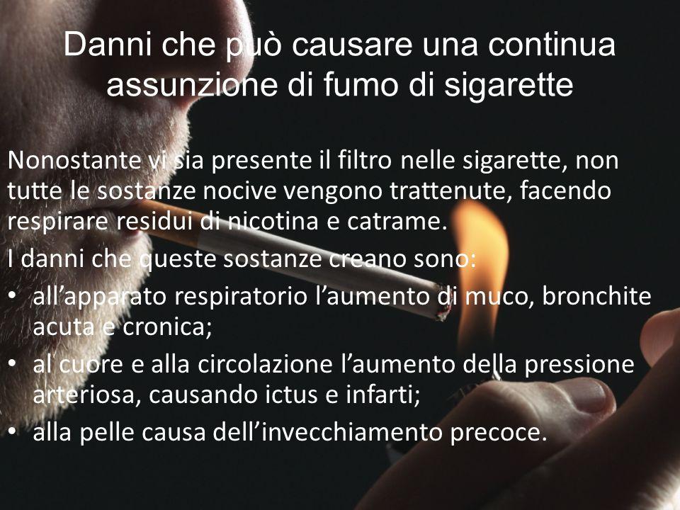 FUMO NELLO SPORT Il fumo causa riduzione delle prestazioni sportive.