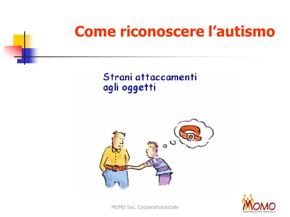 MOMO Soc. Cooperativa sociale 37 Come riconoscere lautismo