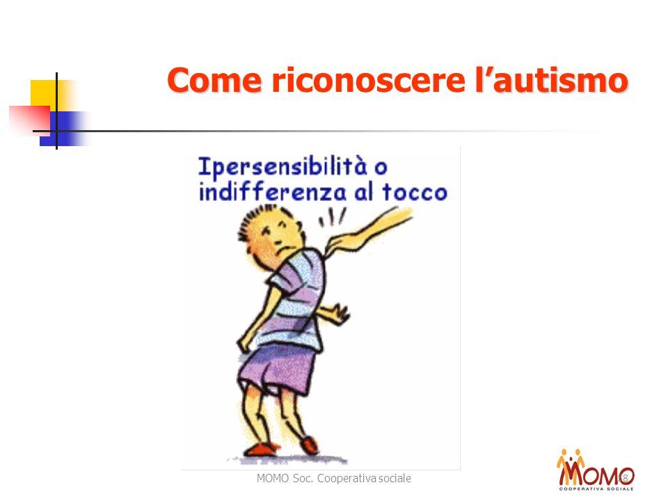 MOMO Soc. Cooperativa sociale 38 Come lautismo Come riconoscere lautismo