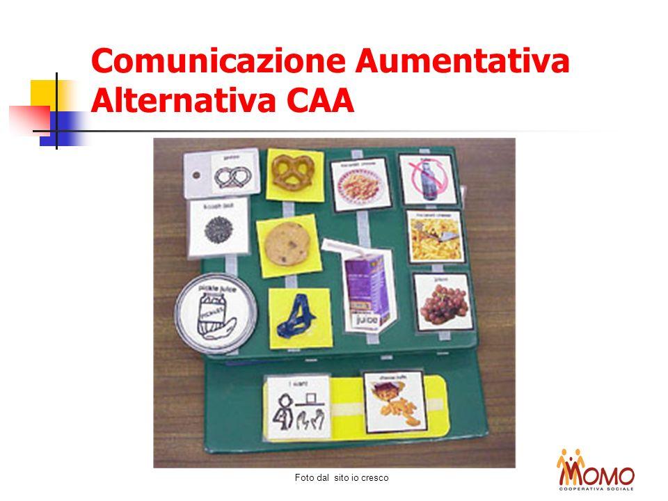Foto dal sito io cresco Comunicazione Aumentativa Alternativa CAA
