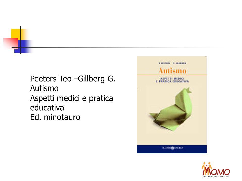 Peeters Teo –Gillberg G. Autismo Aspetti medici e pratica educativa Ed. minotauro