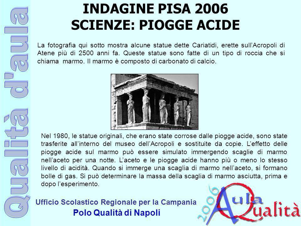 Ufficio Scolastico Regionale per la Campania Polo Qualità di Napoli La fotografia qui sotto mostra alcune statue dette Cariatidi, erette sullAcropoli