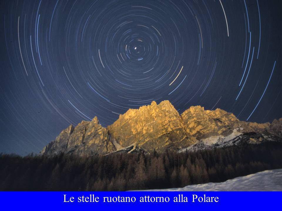 Le stelle ruotano attorno alla Polare
