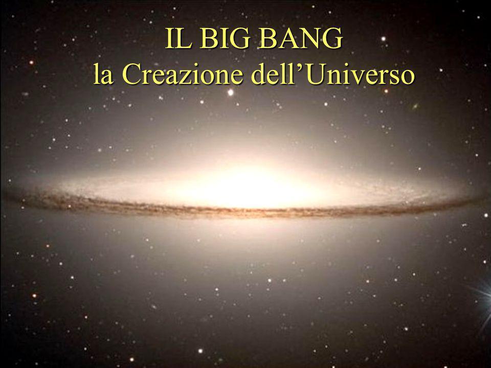 IL BIG BANG la Creazione dellUniverso