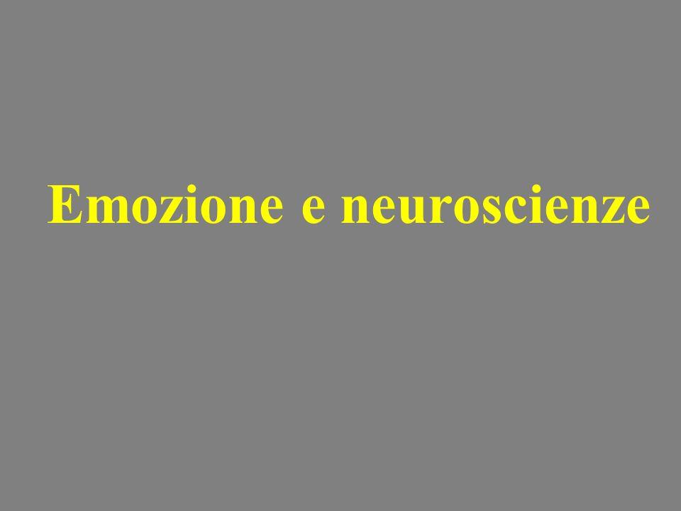 Emozione e neuroscienze