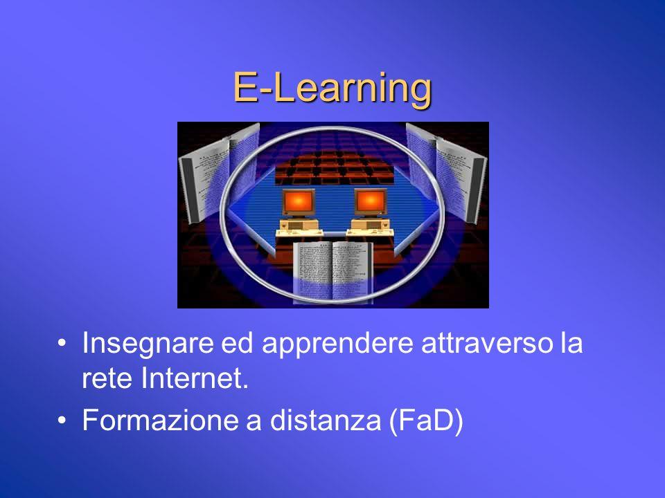 Autoapprendimento Uso di strumenti multimediali (TV, Video, Cd, DVD, etc..) Risorse su Internet Medicina Basata sullEvidenza E-Learning (corsi strutturati on line)