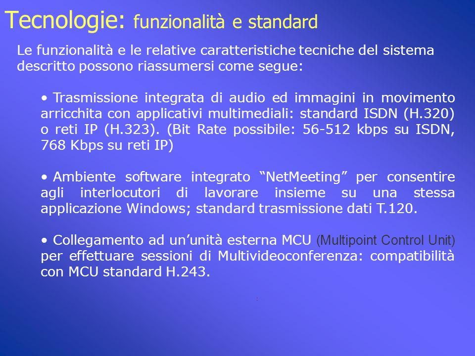 Tecnologie: configurazione hardware minima IRCCS S.