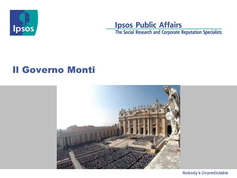 Nobodys Unpredictable Il Governo Monti