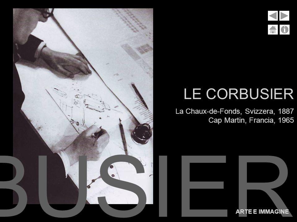 Le Corbusier, pseudonimo di Charles-Edouard Jeanneret-Gris, era un archittetto, urbanista, pittore e designer svizzero però di natura francese.