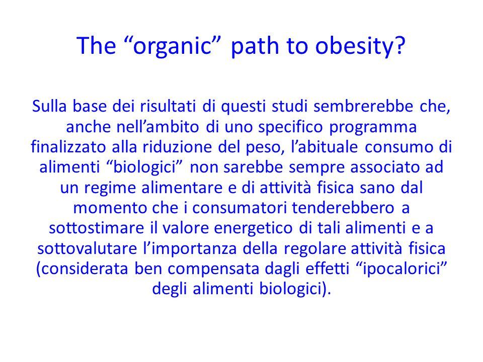 Sulla base dei risultati di questi studi sembrerebbe che, anche nellambito di uno specifico programma finalizzato alla riduzione del peso, labituale c