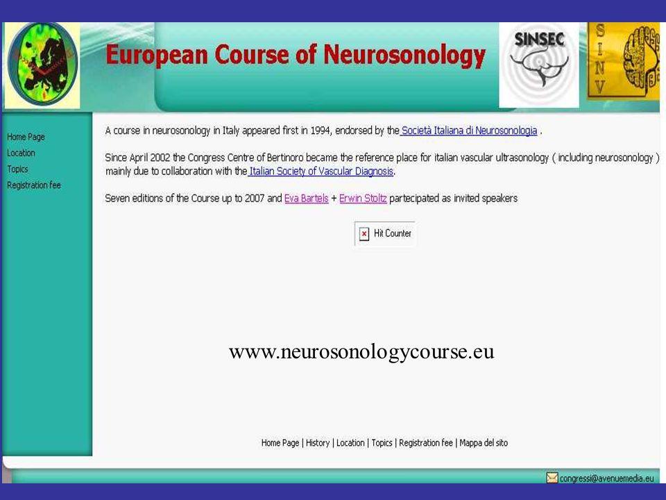 www.neurosonologycourse.eu