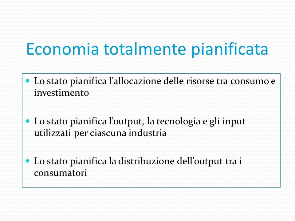 Quali sono le differenze nellorganizzazione delle economie dei vari paesi ? I diversi sistemi economici si distinguono in base al grado di intervento