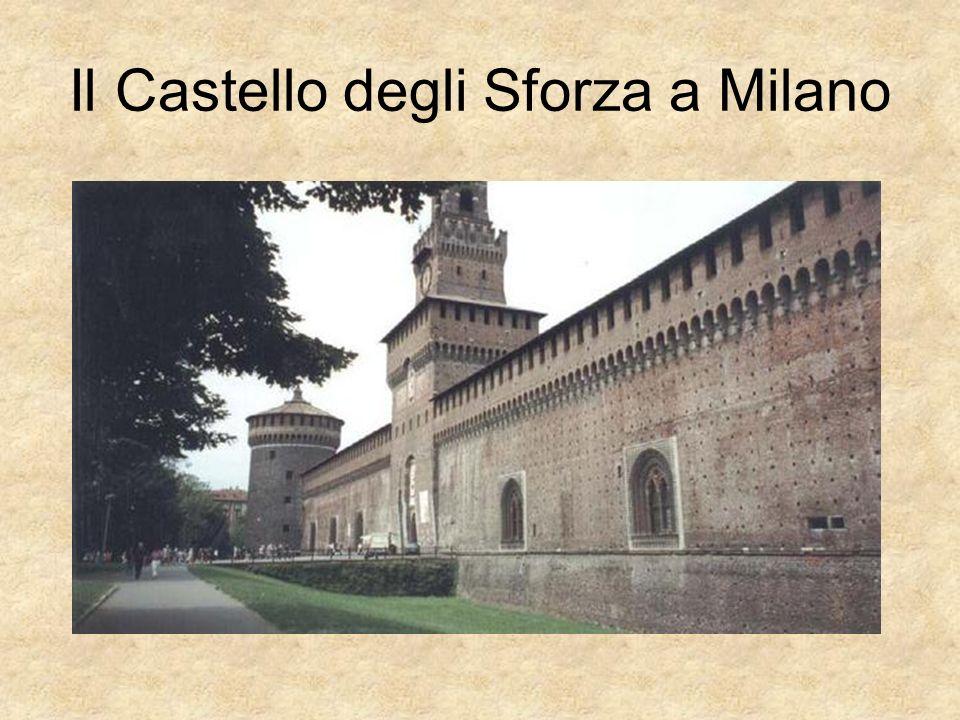 Il Castello degli Sforza a Milano