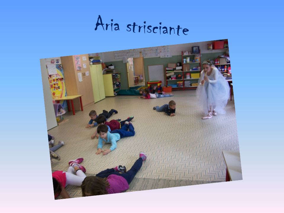 Aria strisciante