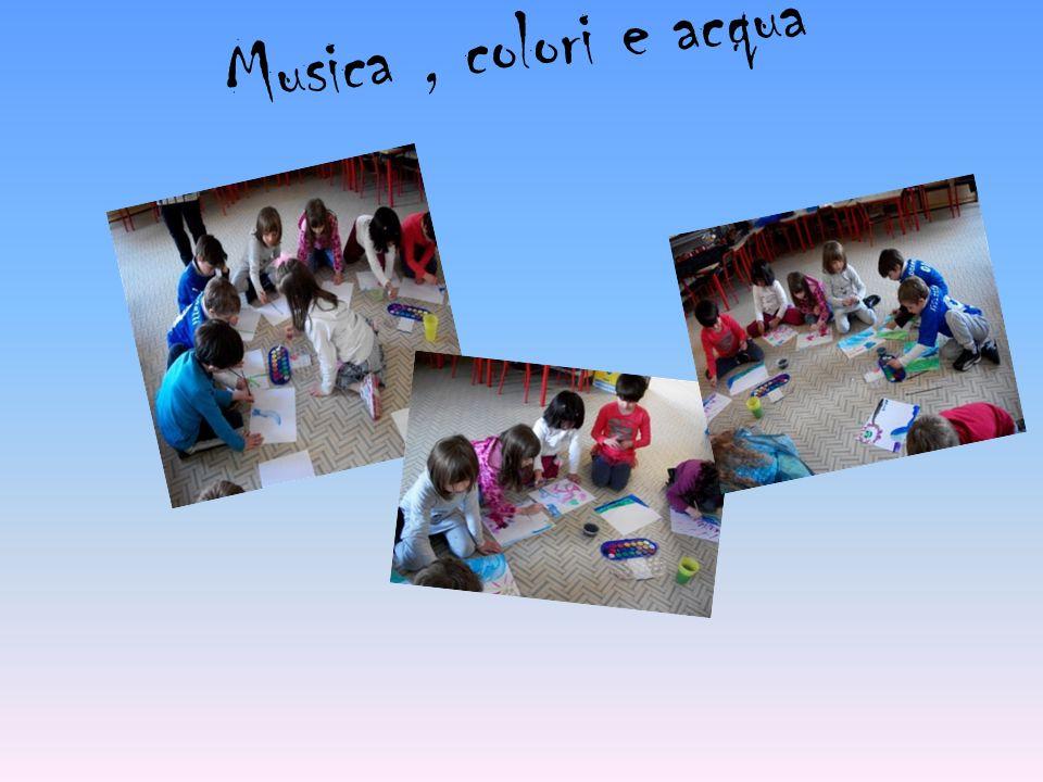 Musica, colori e acqua