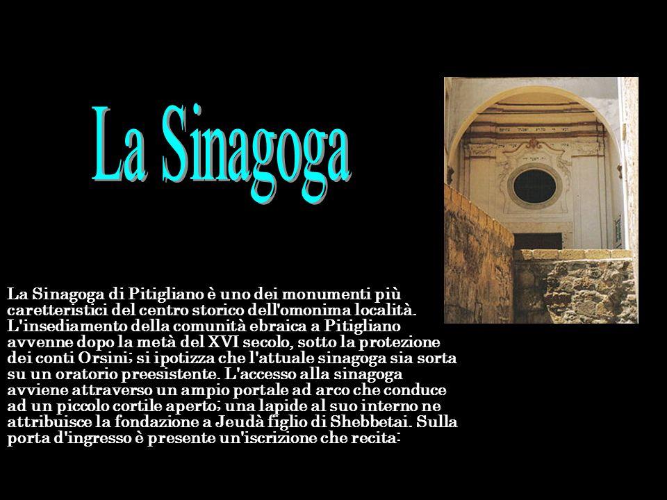 La Sinagoga di Pitigliano è uno dei monumenti più caretteristici del centro storico dell'omonima località. L'insediamento della comunità ebraica a Pit