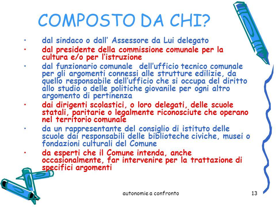 autonomie a confronto13 COMPOSTO DA CHI.