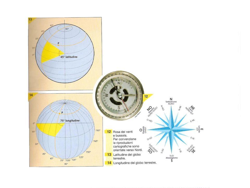Il tempo Il globo terrestre è suddiviso in 24 spicchi di circa 15° di long.