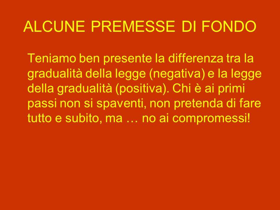 ALCUNI LEGAMI DI FONDO Stretto rapporto tra Parola e conversione, penitenza (pensiamo ai messaggi di Lourdes e Fatima).