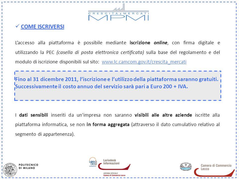 COME ISCRIVERSI Laccesso alla piattaforma è possibile mediante iscrizione online, con firma digitale e utilizzando la PEC (casella di posta elettronic