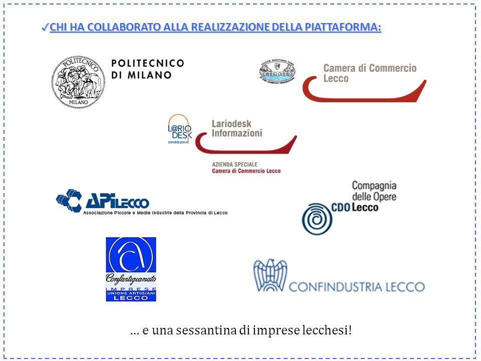 Per ulteriori informazioni: www.lc.camcom.gov.it/crescita_mercati Ufficio Studi e Programmazione Lecco, gennaio 2011