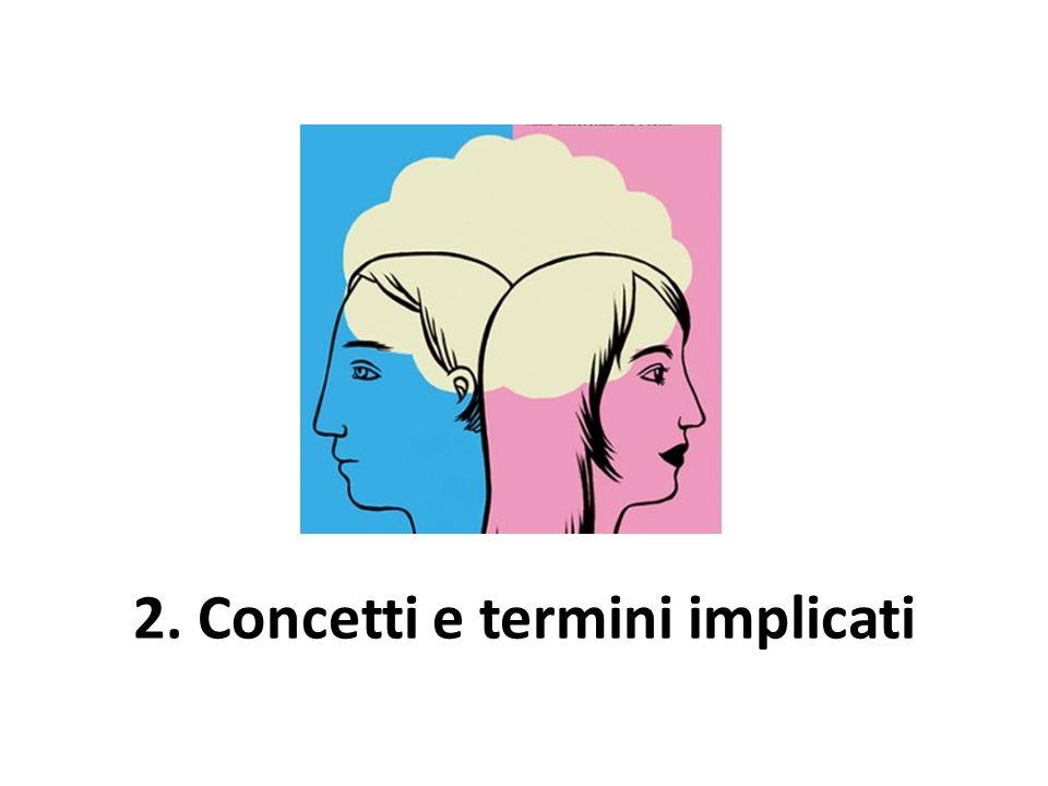 2. Concetti e termini implicati