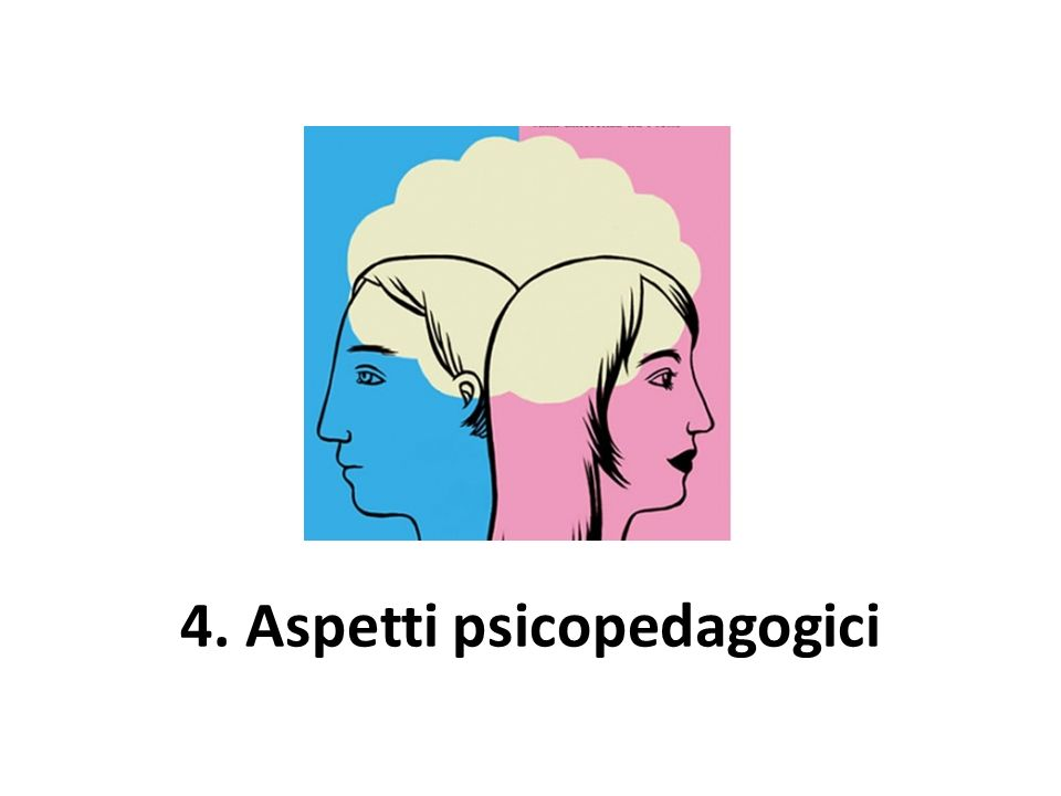 4. Aspetti psicopedagogici