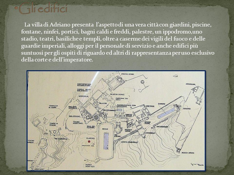 Le grandi Terme Sono molto vicine alle Piccole e sono di dimensioni maggiori ma meno originali architettonicamente.
