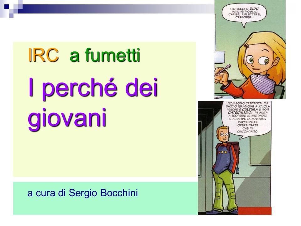 IRC a fumetti I perché dei giovani a cura di Sergio Bocchini