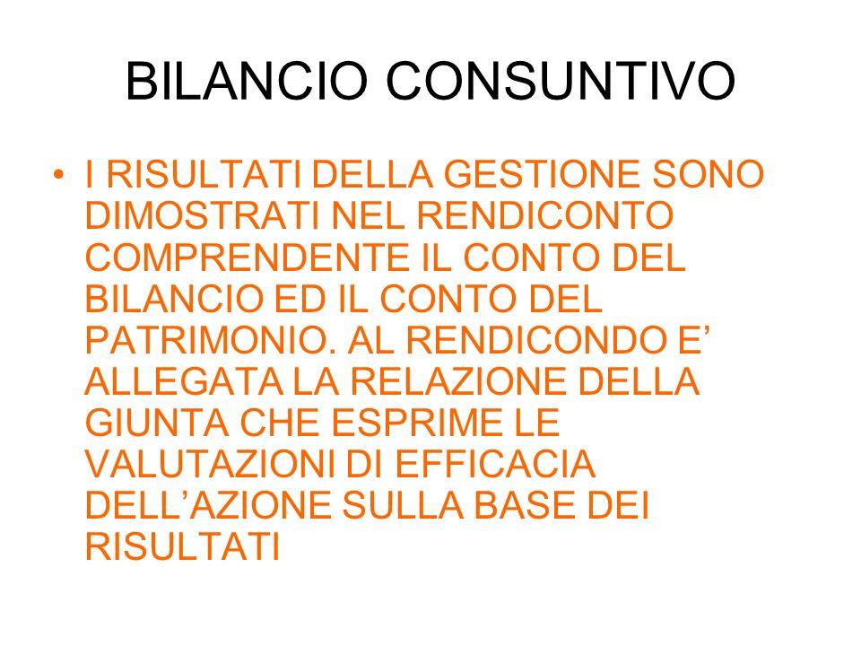 Caratteristiche del bilancio Lunità elementare del Bilancio: Per lentrata è la RISORSA Per la spesa è lINTERVENTO.