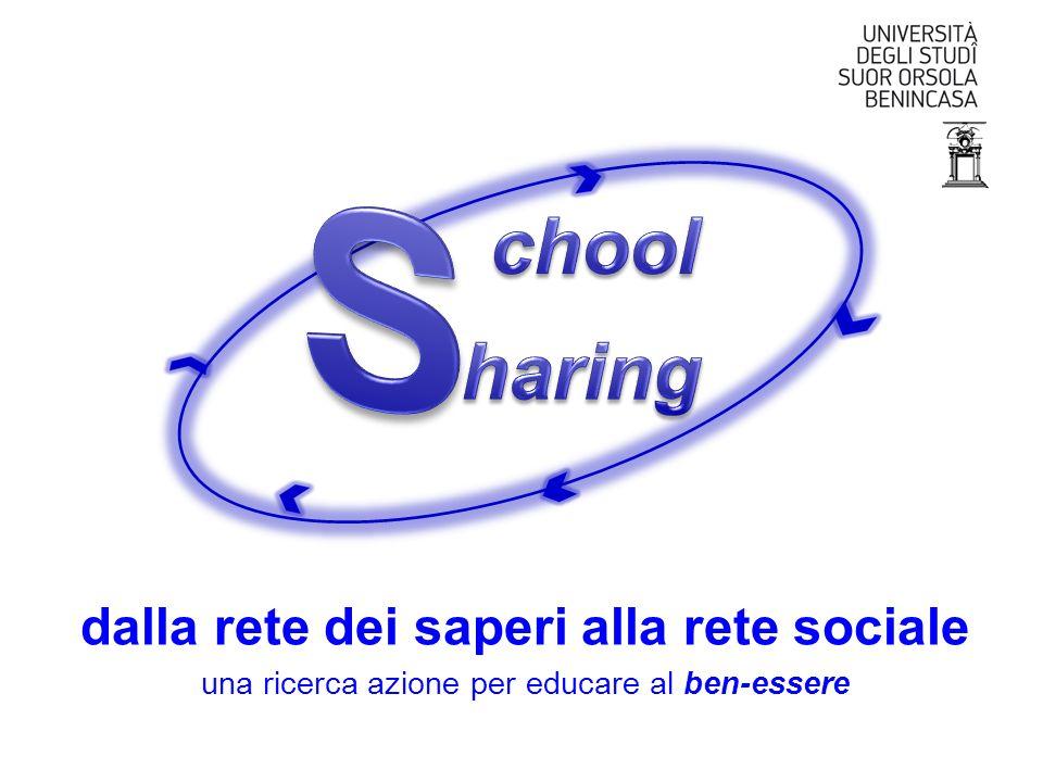 dalla rete dei saperi alla rete sociale una ricerca azione per educare al ben-essere