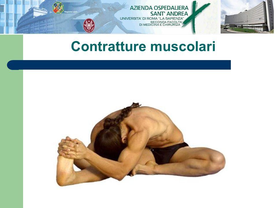 Contratture muscolari
