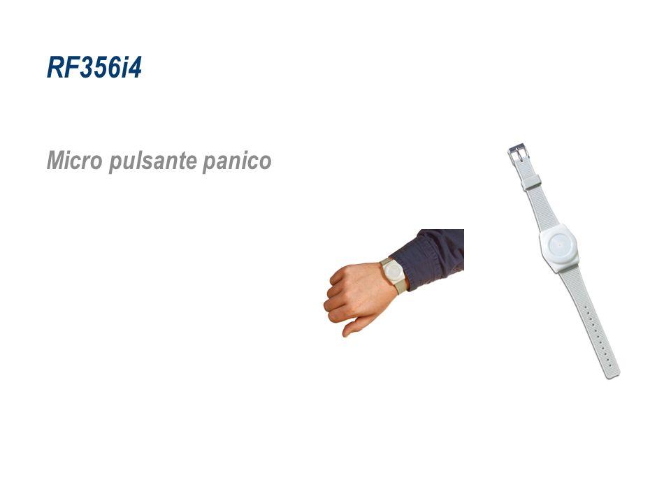 RF356i4 Micro pulsante panico