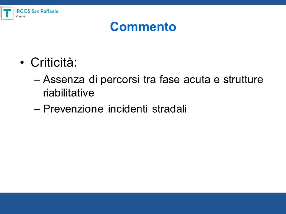 An Italian Survey of Traumatic Spinal Cord Injury.