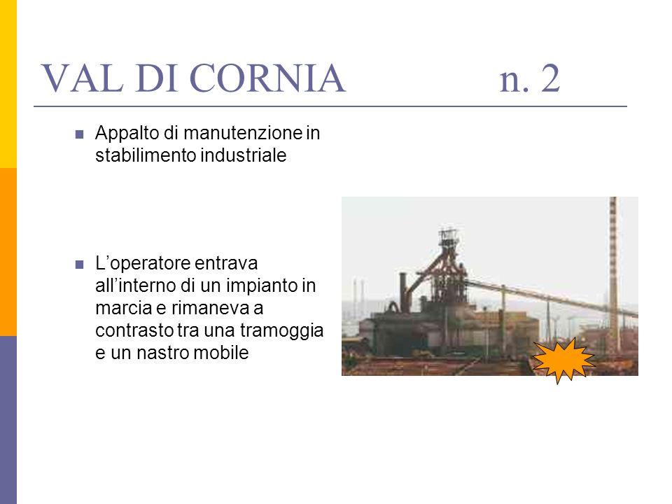 Appalto di manutenzione in stabilimento industriale Loperatore entrava allinterno di un impianto in marcia e rimaneva a contrasto tra una tramoggia e