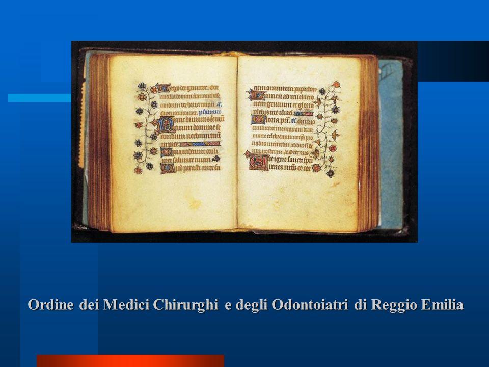 Ordine dei Medici Chirurghi e degli Odontoiatri di Reggio Emilia