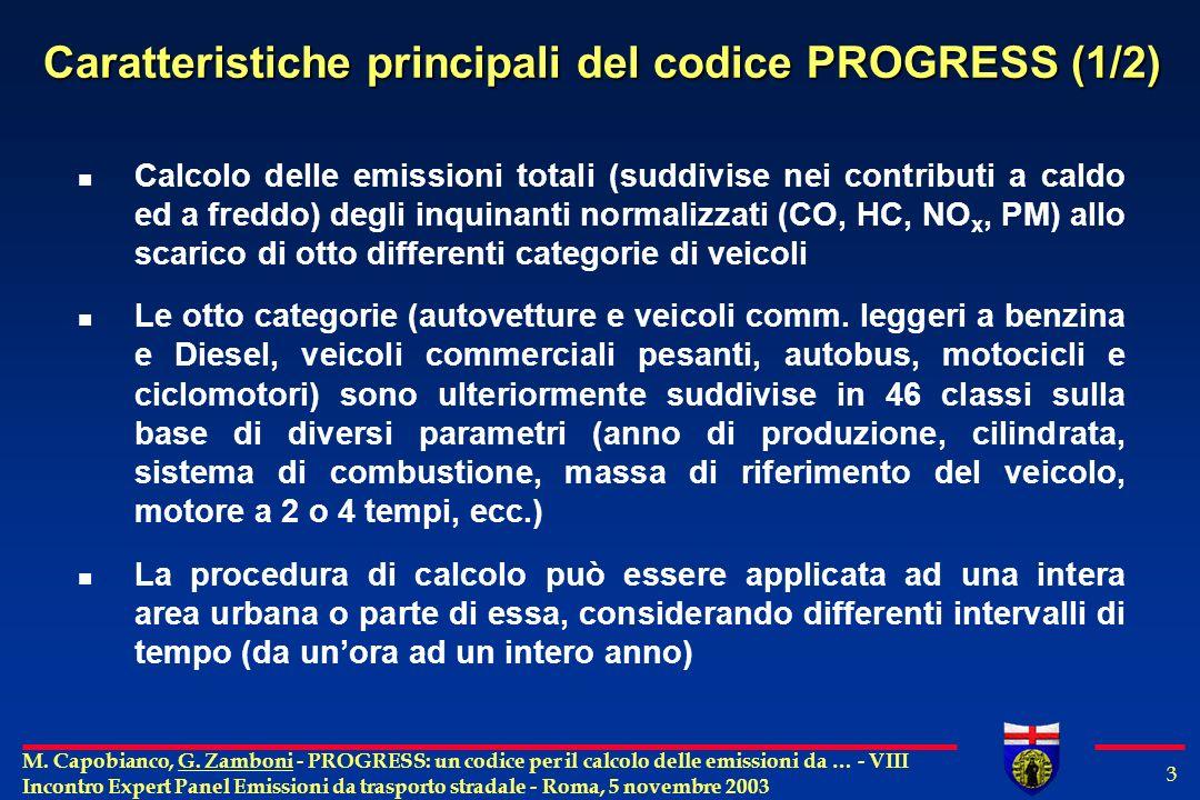 M. Capobianco, G.