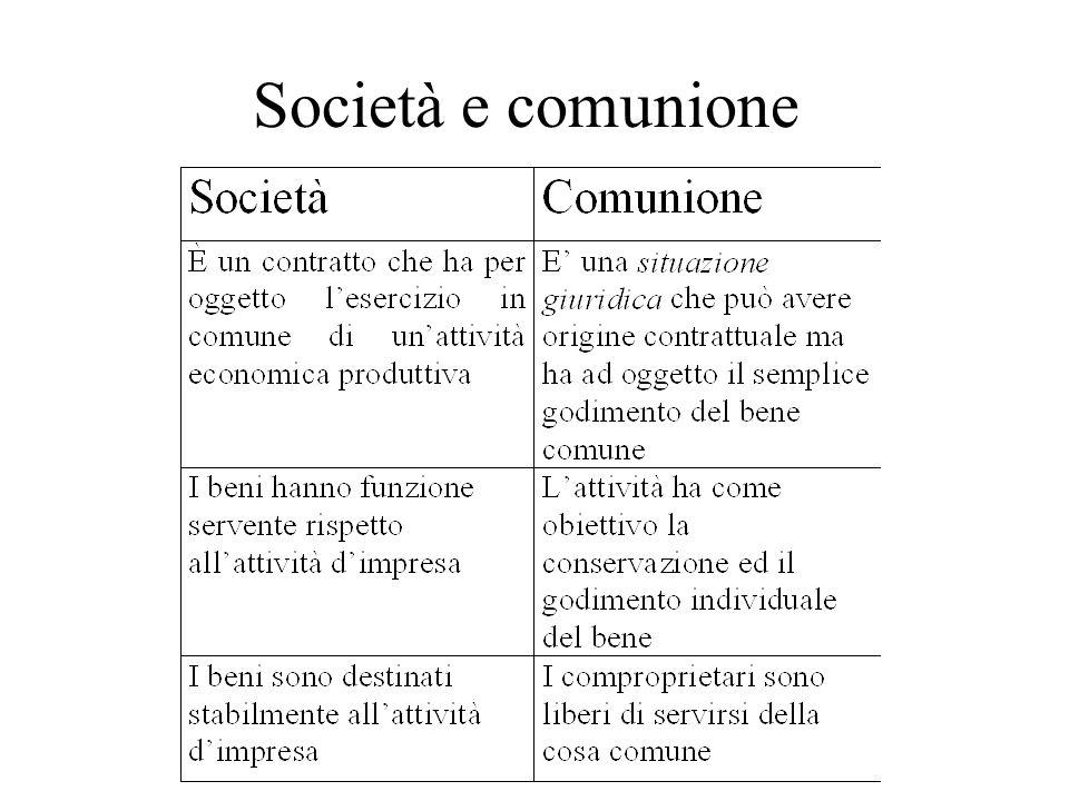 Società e comunione