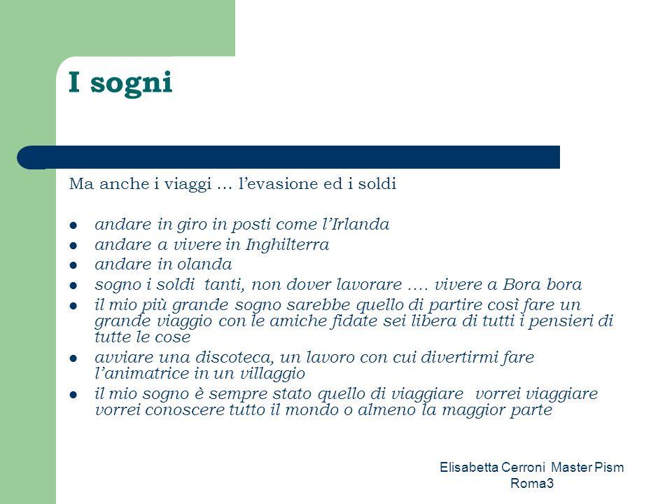 Elisabetta Cerroni Master Pism Roma3 I luoghi di Magliano Sabina Magliano ha poche possibilità però cè lex convento, un luogo molto grande… a Magliano ci sarebbero opportunità ….eppure … non vengono sfruttate … progettate ….