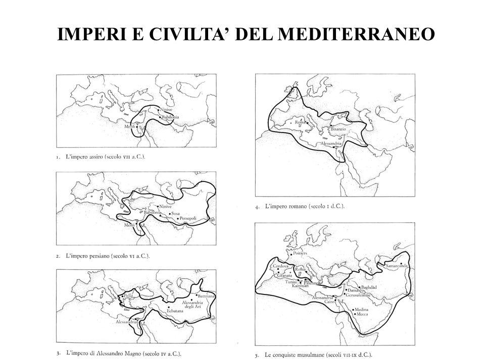 IMPERI E CIVILTA DEL MEDITERRANEO