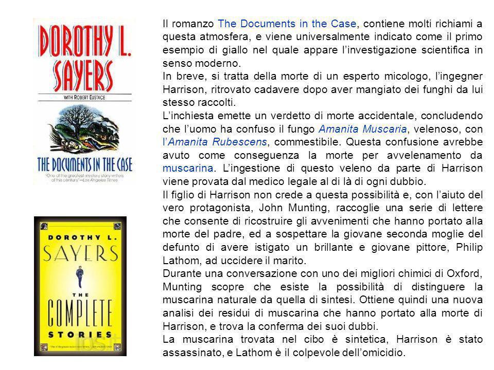Il romanzo The Documents in the Case, contiene molti richiami a questa atmosfera, e viene universalmente indicato come il primo esempio di giallo nel